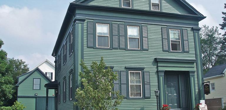 Photo of Lizzie Borden House